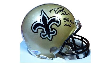 Autographed Drew Brees New Orleans Saints Mini Helmet b0bd22f4-7aa6-4ee4-8b36-0291ce3fbfa5
