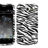 Insten Zebra Skin Phone Case for ZTE: N9500 (Flash)