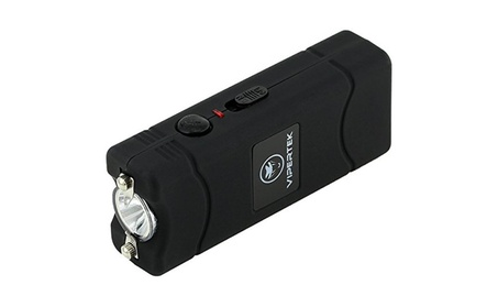 Micro Stun Gun - Rechargeable with LED Flashlight, Black c38922af-0210-4259-862f-d14517cf64e7