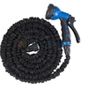 Garden Water Hose with Spray Nozzle Latex 25 50 75 100 FT Expanding