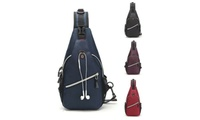 Men/Women Chest Cycle Sling Bag Crossbody Shoulder Daily Travel Backpack Purse (Supreme Gifts) photo