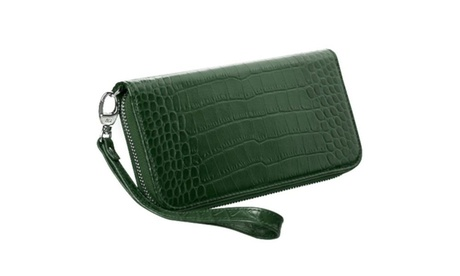 Insten Universal Red Crocodile Leather MyJacket Wallet Case Green 1884b4bd-c537-4068-8692-ad02144ca257
