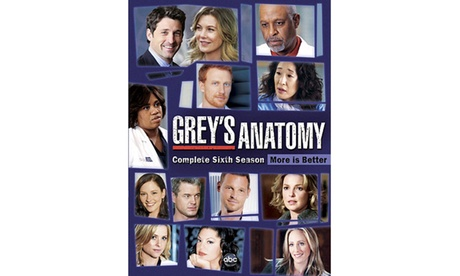 Grey's Anatomy: The Complete Sixth Season 66d6f343-0f7c-4272-9d62-5236fc893e53