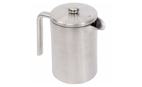 Wyndham House 1.2L Double Wall Stainless Steel (304) French Press c26a5a5b-a806-4893-a2fe-75c45b64fd66