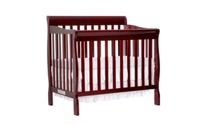 Dream On Me Aden Convertible 4-in-1 Mini Crib at Groupon Goods, plus 6.0% Cash Back from Ebates.