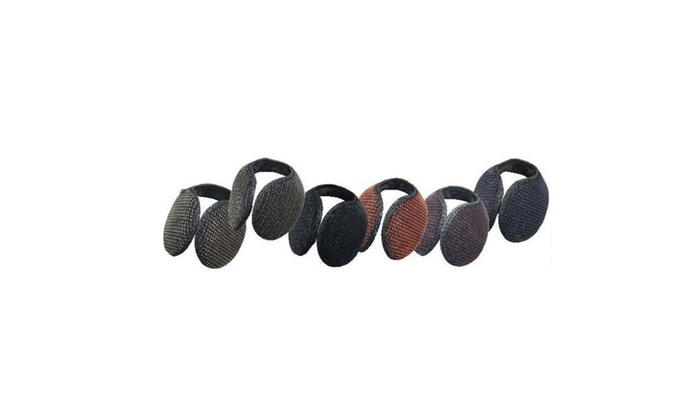 Unisex Mens Womens Corduroy Ear Muffs.. (Pack of 3  Assorted)