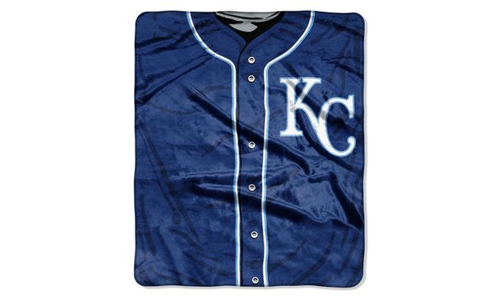 MLB 0705 Royals Jersey Raschel