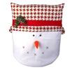 Snowman Christmas Chair Covers - Christmas Throw Pillow Sets
