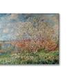 Claude Monet Spring 1880 Canvas Print