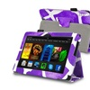 Insten For Amazon Kindle Fire HDX 7 Stand Leather Case Purple Giraffe