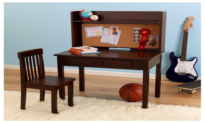 Superb Kidkraft Pinboard Desk With Hutch And Chair