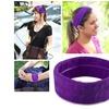 Zodaca Purple Fashion Yoga Elastic Hair Band Ladies Accessories Sport