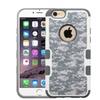 Insten Camouflage Hard Case For Apple iPhone 6 Plus 6s Plus Gray White