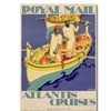 Kenneth Shoesmith 'Atlantis Cruises 1930' Canvas Art