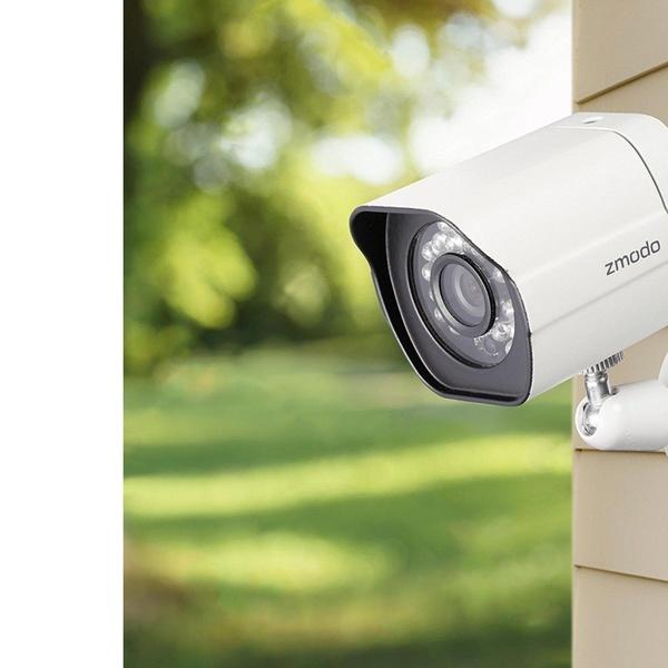 Zmodo 4 Pack 720p Smart WiFI IR IP Network Security Camera Kit with Night  Vision