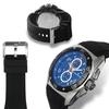 Studer Schild Diesel Chronograph Mens Watch Black/Blue