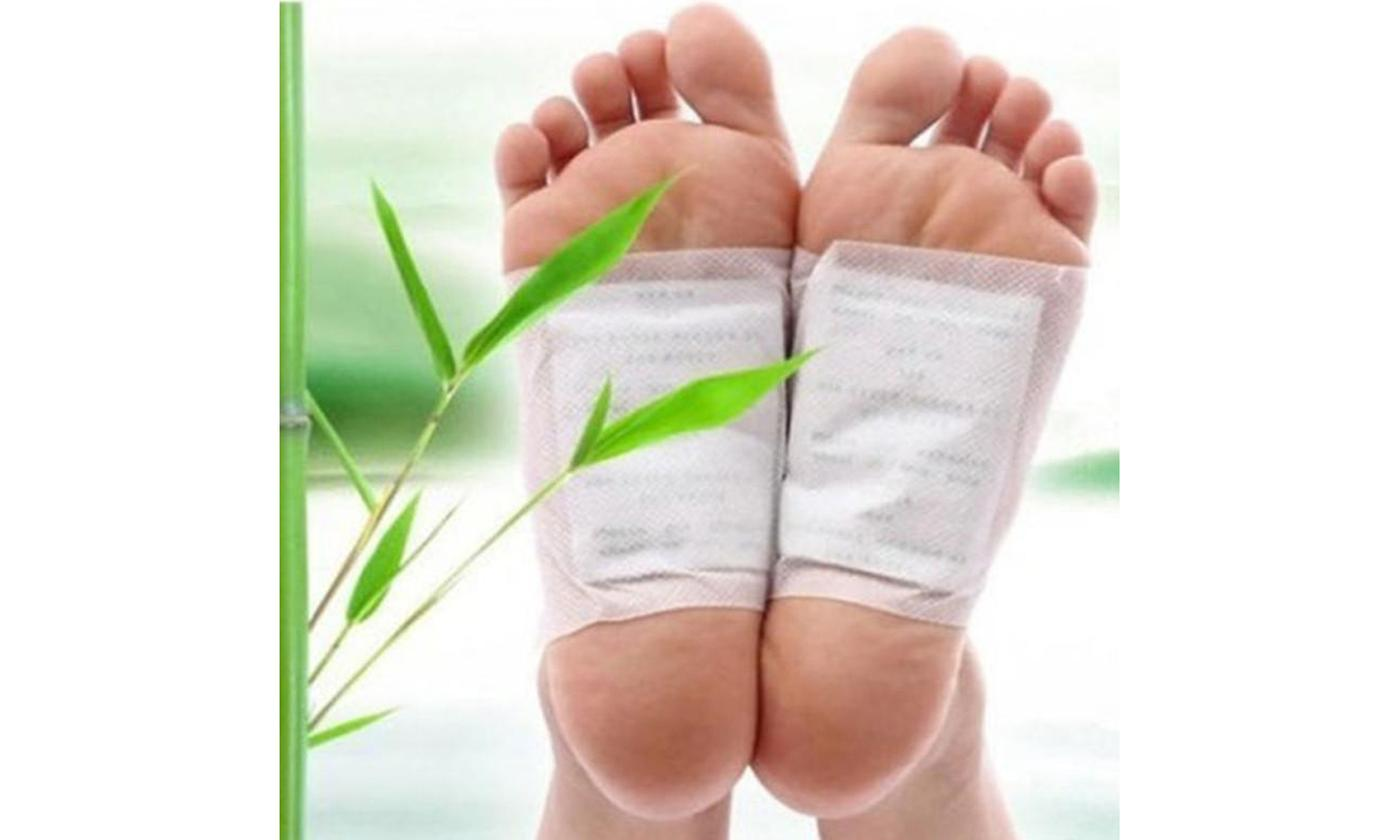 Detox Foot Pads Patch Detoxify Toxins Fit Health Care With Adhesive