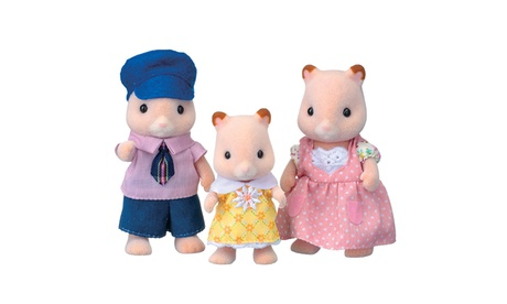 International Playthings - Calico Critters Fluffy Hamster Family 358e74e8-254d-4458-b5d7-e0656916a8b5