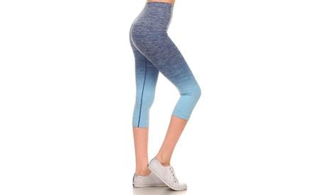 Activewear Ombre Capri Leggings ee67c82b-1dc9-4156-8c4e-8e530357e4c7