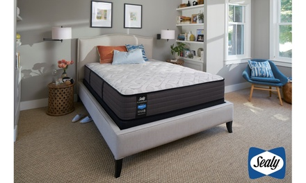 Sealy Response Performance 12.5'' Firm or Plush Tight Top Mattress Set
