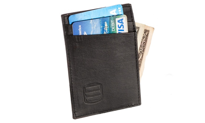 Suvelle Genuine Leather Slim Credit Card Slots, Wallet # W033