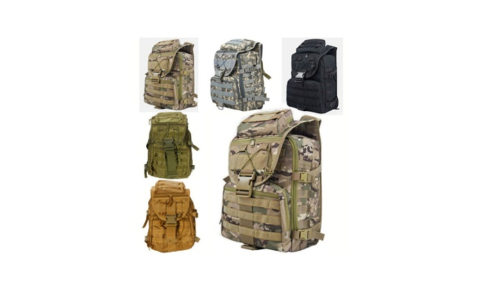 Military Tactical Backpack Hiking Hunting Travel Shoulders Day Packs