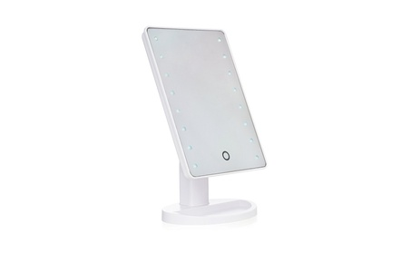 Juliet Large LED Lighted Vanity Cordless Makeup Mirror with Stand