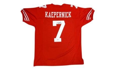 Autographed Colin Kaepernick San Francisco 49'ers Custom Jersey 4ec022aa-54ec-42a2-939c-6d68b75cace4