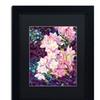 Mandy Budan 'Cascade' Matted Black Framed Art
