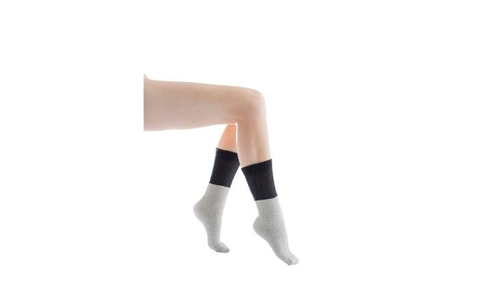 e6e3176b49244 Yacht & Smith 6 Pairs of Women's Thermal Tube Socks, Sock Size 9-11 ...