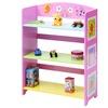 Kids Bookcase  w/3 Shelves Book Shelf Adorable Corner Adjustable