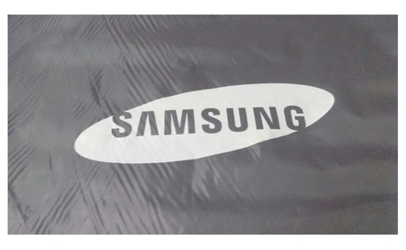 Samsung Washer a/o Dryer Plastic Waterproof Cover- Wide Open Side photo
