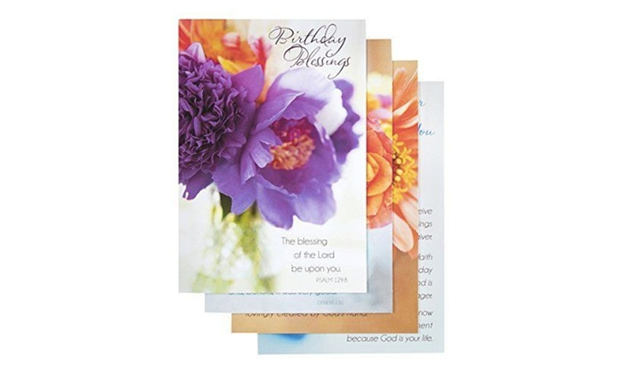 Dayspring Cards 126187 Card Boxed Birthday Flowers Of Joy