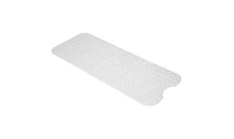 PVC Bathroom Bathtub Non-slip Bath Mat 99*39cm Milky White/Gray