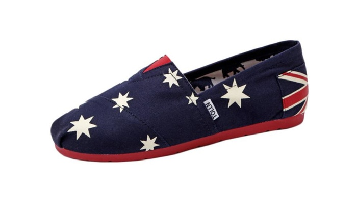 Women's Simple Casual Canvas Flats Shoes