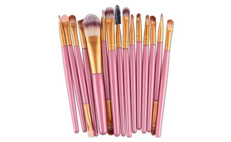 Cosmetic Foundation Brush New Professional 15 PCS Makeup Brushes Set