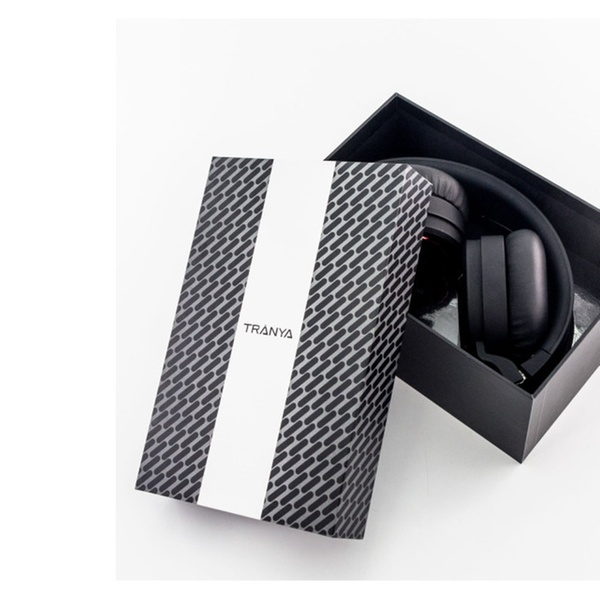 fb9c2a425c0 Tranya Stereo Wireless Headphones with Microphone On-ear Foldable | Groupon