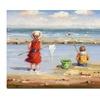 At the Beach II Canvas Print 26 x 32