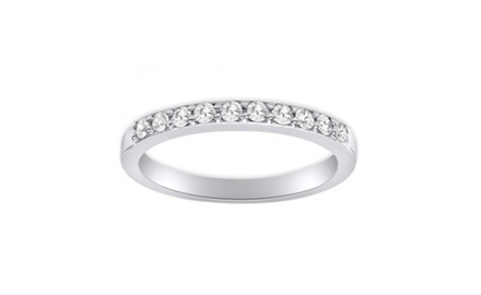 0.45 ct Ladies Round Cut Diamond Wedding Band Ring