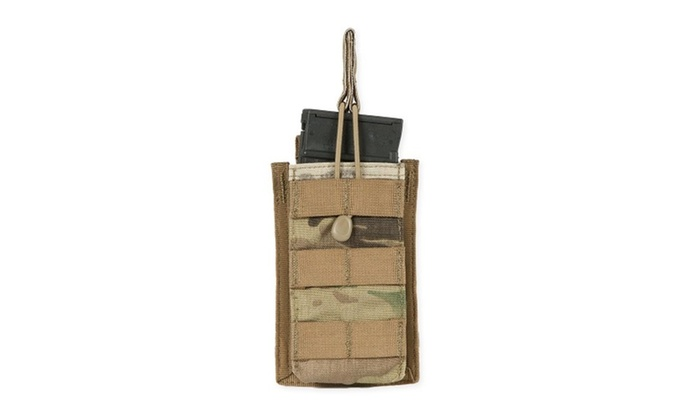 Tacprogear Multicam Short Open Top Single Rifle Mag Pouch