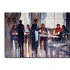 Ryan Radke Business Lunch Canvas Print