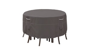 Classic Accessories Ravenna Patio Table & Chair Cover, Tall