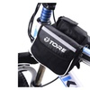 Waterproof Bicycle Front Frame  Bag Pannier Double Pouch