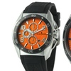 Studer Schild Bell Chronograph Mens Watch Black/Orange