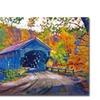David Lloyd Glover Fall Comes to Downer VT Canvas Print