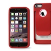 "REIKO Polymer Belt Clip Hard Case For Apple iPhone 6 4.7"" inch - Red"