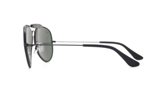 6571499ce2 Ray Ban Outdoorsman Craft Sunglasses RB3422Q 9040 58 Black   Green Classic G -15
