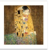 Gustav Klimt 'The Kiss 1907-8' Canvas Rolled Art