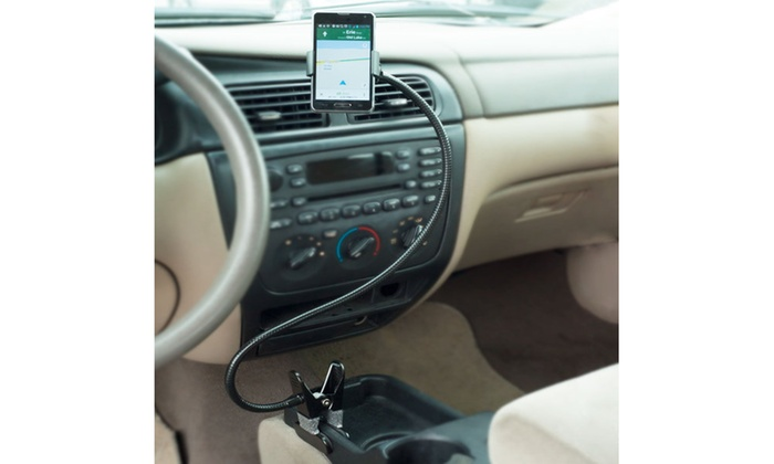 Universal Smart Phone Holder - Flexible Gooseneck Clamp on