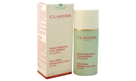 Clarins Ultra-Matte Rebalancing Lotion Oily Skin for Men and Women (1.7 Oz.)